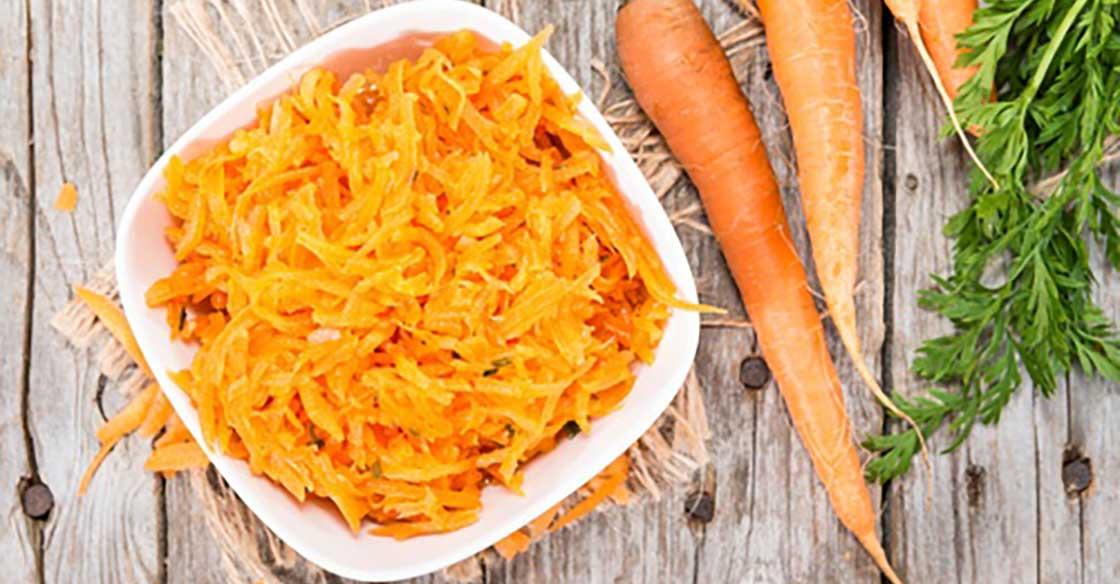 Recette Minceur : Salade de Carottes de Ma Mère