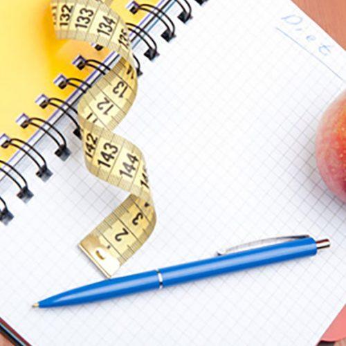 programme minceur, planifier la perte de poids